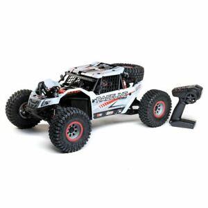 Losi Super Rock Rey: 1/6 4WD Elec Rock Racer, RTR White # LOS05016V2T1