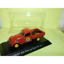 PEUGEOT 202 PICK UP TYPE UH 1947 NOREV 1:43 blister