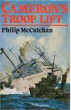 PHILIP McCUTCHAN CAMERON'S TROOP LIFT FIRST EDITION HARDBACK U/C DJ 1987