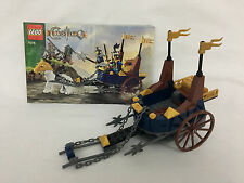 LEGO 7078 Castle Kings Battle Chariot Mini Figures Included Complete No Box