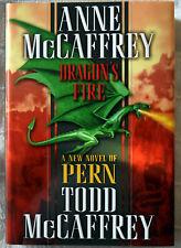 Anne & Todd McCaffrey: Dragon's Fire 1st/1st Signed HC/DJ