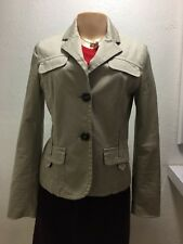 beige Used Woman Jacket Size 6 Of The Brand Mango.