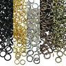 50-500 Split Jump Rings Open Connector Jewelry Finding DIY 4/5/6/8/10/12/14/20mm