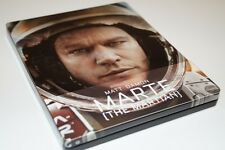 THE MARTIAN 3D blu ray Steelbook - 2 disc set ( SPANISH - English Audio )(NEW)
