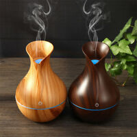 USB LED Ultrasonic Aroma Humidifier Essential Oil Diffuser Air Humidifier 130ml