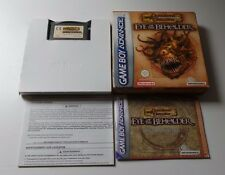 DONJONS & DRAGONS EYE OF THE BEHOLDER Nintendo Gameboy Advance GBA