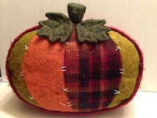 Pillow Halloween Patch Work Pumpkin Holiday Decoration Soft Plush
