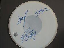 Metallica -  SIGNED BY 3 - drum head!!!  -   ORIGINAL