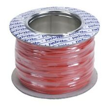 Model Railway/Railroad Layout/Point Motor etc Wire 100m Roll 7/0.2mm 1.4A Red