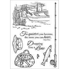 "Inky Antics ""Fishing Favorites"" Clear Stamp Set 11112MC"