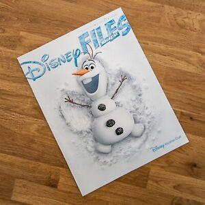 Disney Files Magazine - Summer 2016 Volume 25 No 2  Frozen 25 Years of DVC