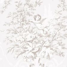 Cherub Floral on Cream Victorian Wallpaper CH28310 Double Roll FREE SHIPPING