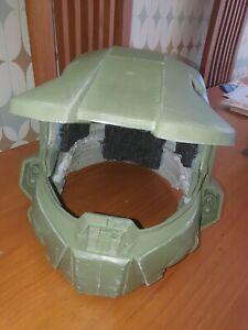 3d printed helmet, cosplay, halo