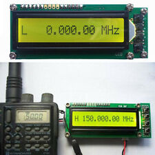 0.1~1100 MHz 0.1~1.1 GHz Frequency Counter Tester Measurement LCD For Ham Radio