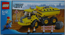NEW Lego Town City CONSTRUCTION 7631 DUMP TRUCK Sealed