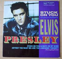 "EX! ELVIS PRESLEY STUCK ON YOU 12"" VINYL 4 TRACK EP (PT49596)"
