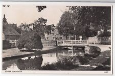 Gloucestershire; Lower Slaughter RP PPC, Unposted, By Photochrom, Shows Bridge