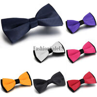 Classic Tuxedo Bowtie Men's Trendy Adjustable Double-layer Wedding Party Bow Tie