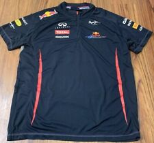PEPE JEANS POLO RED BULL F1 RACING FORMULA ONE TEAM POLO SHIRT INFINITI XL