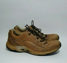 Ecco Sneakers Tan EUR 44 Men's Tan Leather (10 -10.5) Shoes