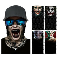 The Joker Motorcycle Cycling Neck Scarf Bandana Headband Cosplay Balaclava