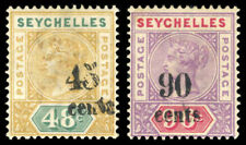 Cats Single Seychellois Stamps (Pre-1976)