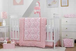 Heart of Gold 7 Pc (w/Mobile & Secure-Me Liner) Infant Bedding Set by Carter's
