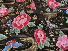 Gutcheon American Classic Cotton fabric tulip floral apparel BTHY half yard cut