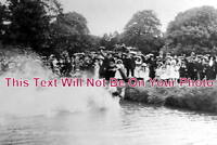CH 740 - Coronation Canal Race, Christleton, Cheshire 1911 - 6x4 Photo