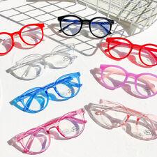 8 Colors Kids Round Frame Blue Light Blocking Glasses Computer Gaming Eyeglasses