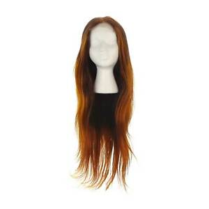 """NEW UNICE 10A T-Part Lace Brazilian Human Hair in Ombre Auburn Color - 24"""""""
