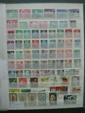 ALBUM PAGE EAST GERMANY   ,75  ALL DIFFERENT  STAMPS,   TOP QUALITY