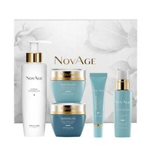Oriflame NovAge Skinergise Set 5 pcs Granny Mom Woman Colleague Gift Idea 42723