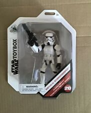 Star Wars Toybox ~IMPERIAL STORMTROOPER  Action Figure Set - Disney Store sealed
