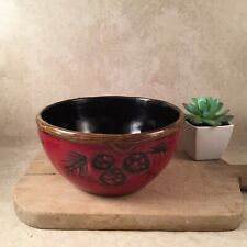 Alpine Red by Home Collection JC Penneys Soup Cereal Bowls Pinecone Design