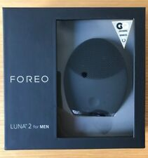 FOREO LUNA 2 for MEN Face Wash Brush, Waterproof Anti-Aging, Massager - New