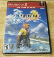 Final Fantasy X 10 PlayStation 2 PS2 FACTORY SILVER SEALED NEW GREATEST HITS