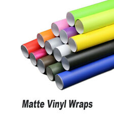 Premium MATTE Vinyl Wrap Sheet Car Wrap Vinyl Wrapping Various Colours and Sizes