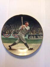 "Babe Ruth ""The Called Shot"" Limited Edition Colllectors Plate"