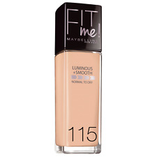 Maybelline Fit Me Luminoso & Smooth Foundation 115 Avorio RARO SIGILLATO