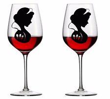 9 X Snow White de vinilo Calcomanía Pegatinas De Copa De Vino