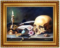 Ölbild Stillleben, Stilleben ÖLGEMÄLDE HANDGEMALT Gemälde Ölmalerei F40x50cm