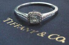 Tiffany & Co Platinum Legacy Diamond Engagement Ring .59Ct H-VS2
