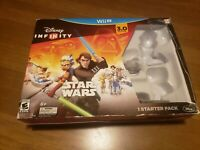 Wii U Disney Infinity Star Wars Starter Pack 3.0 Edition. Preowned - never used.