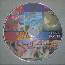 Complete Audiobook Collection of Harry Potter MP3 Instant Download
