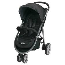 Graco Aire3 Stroller Ritzy Fashion Black NEW