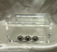 Bomboniere Scatoline in plexiglass con punti luce Battesimo nascita matrimonio