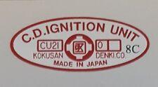 SUZUKI X7 CDI IGNITION UNIT DECAL