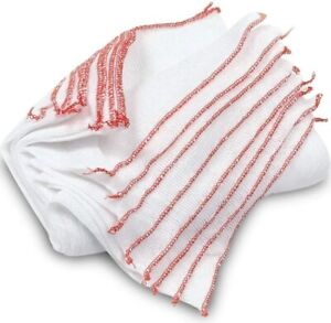10 x DISH CLEANING CLOTHS LARGE WASHING SOFT CLOTHES DISHES ABSORBENT REUSABLE