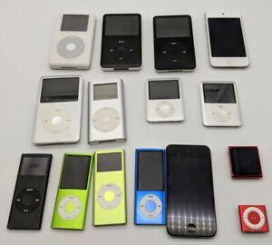 15 x Apple iPod Classic & Nano • defekt • Bastler • Ersatzteile • Konvolut •